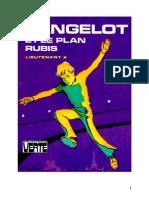 Lieutenant X Langelot 28 Langelot et le plan rubis 1977.doc