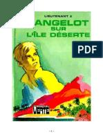 Lieutenant X Langelot 27 Langelot et sur l'ile déserte 1977.doc