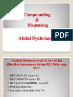CompoUnding n Dispensing Pak Salman