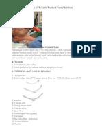 Tindakan Pemasangan ETT Dan CVC