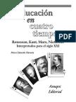 Amapsi - Educación en cuatro tiempos. Rousseau, MArx.pdf