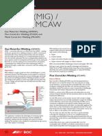 Weldiing Process Gmaw Fcaw Mcaw