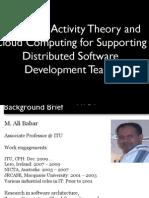 ActivityTheory CloudComputing GSE PDF.ppt Activitytheory Cloudcomputing Gse PDF