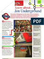 London Tube_treasure Hunt_magazine Art