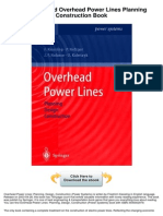 A review on Overhead Power Lines Planning Construction
