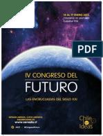 Afiche IV Congreso del Futuro