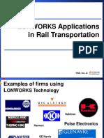 LonWorks Applications in Rail Transportation 2