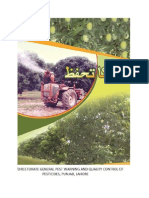 Control of Mango Pests