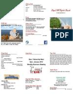 2015-01-11 bulletin