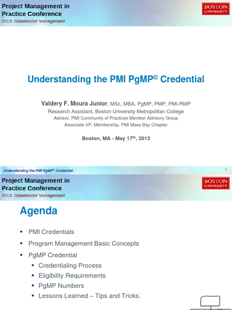 Pgmp valdery project management professional leadership 1betcityfo Image collections