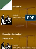 Ejecución Contractual I