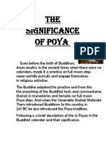 Significants of Poya
