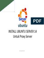 Install Ubuntu Server 14 Untuk Proxy
