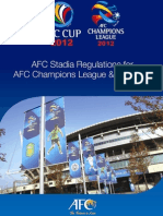 AFC Stadia Regulations