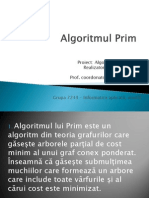 Algoritmul Lui Prim