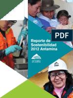Reporte Sostenibilidad 2012