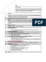 ISO 27001 2013 Transition Checklist