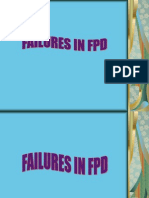 Failures in FPD