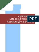 Trabalho escrito sobre a Legislação dos Estabelecimentos de Restauração e Bebidas