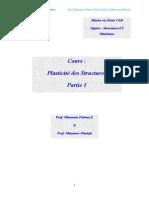 Cours Plasticit Des Structures Parties1et2