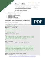 Install Oracle 11g Release 2 on RHEL 5