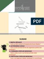 Autonomii Locale Si Institutii Centrale in Spatiul Romanes