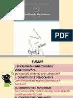 Constitutiile Din Romania