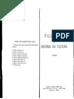 Filosofia e História Da-Cultura 01- Mário Ferreira Dos Santos