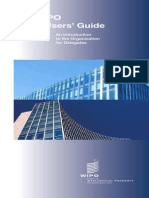 WIPO a User's Guide - An Introduction to the Organization en Ar Bsid