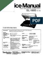 Technics Sl 1900