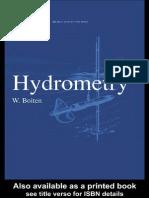 Hydrometry Discharge Measurements