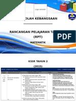 RPT Matematik Tahun 2