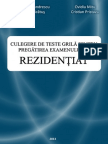Baza de Intrebari Licenta Rezidentiat 2014