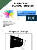 Filsafat Ontologi
