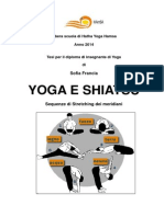 Yoga e Shiatsu