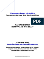 Naskah Drama - Beauty and the Beast