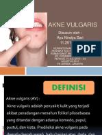 Presentasi Akne Vulgaris Ayu