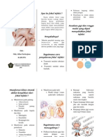 Pamflet Penyuluhan Fokal Infeksi