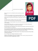 i Am Malala Story