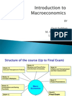 Intro to Macro Economics