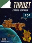 Full Thrust Project Continuum Version 1 0 Dec 2014