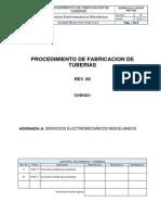 - Procedimiento de Fabricación de Tuberias Asursa
