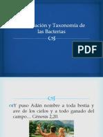 01 - Clasificación y Taxonomía de Las Bacterias