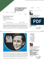 El Ciudadano » La Primera Entrevista de Miguel Enríquez