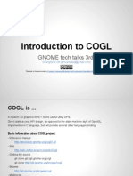 Introduction to COGL