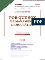 Porque Soy Medianamente Democratico Vladimir Volkoff
