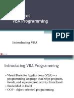01 Introducing VBA