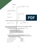 Matemática Revisões 8º 9º