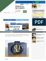 Converti Tu Smartphone en Tu Proyector Con 1 Caja d Zapatos HTML