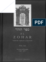 El Zohar  Traducido Explicado Y Comentado parte 3